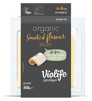 Organic Smoked flavour slices